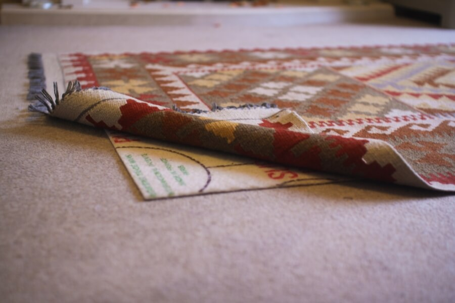 Rug Underlay On Carpet - overturn